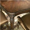 Drexel Heritage® Casa Vita 9-Piece Giordano Dining Table Set - Detail of leg carvings