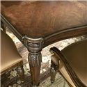 Drexel Heritage® Casa Vita Giordano Dining Table with Gold Gilding