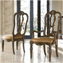 Drexel Heritage® Casa Vita Rossi Arm Chair - Shown with coordinating Rossi Side Chair