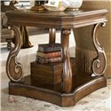Drexel Heritage® Casa Vita Conti Side Table - Shown in living room