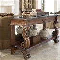 Drexel Heritage® Casa Vita Mancini Console with Black Granite Top