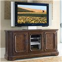 Drexel Casa Vita Deluca Plasma Console - Shown with wood panels on outside doors