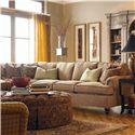 Drexel Heritage® Drexel Heritage Upholstery Carrera Sectional - Shown in Room Setting