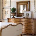 Drexel Heritage® European Market Chimay Drawer Desser  - Shown with Mirror