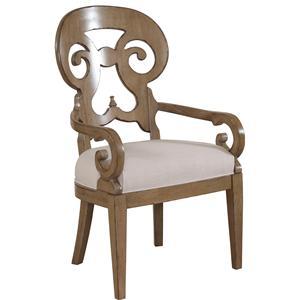Drexel Gourmet Dining Lynx Arm Chair