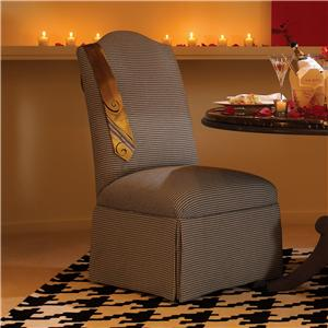 Drexel Heritage® Gourmet Dining - Custom <B>Customizable</B> Elaine Chair