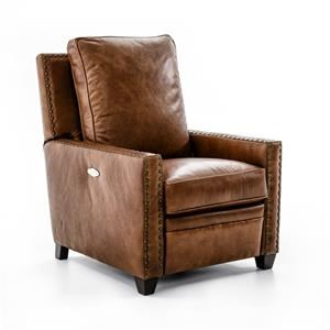 Drexel Heritage® Leather Pairings - Darden Power High Leg Recliner