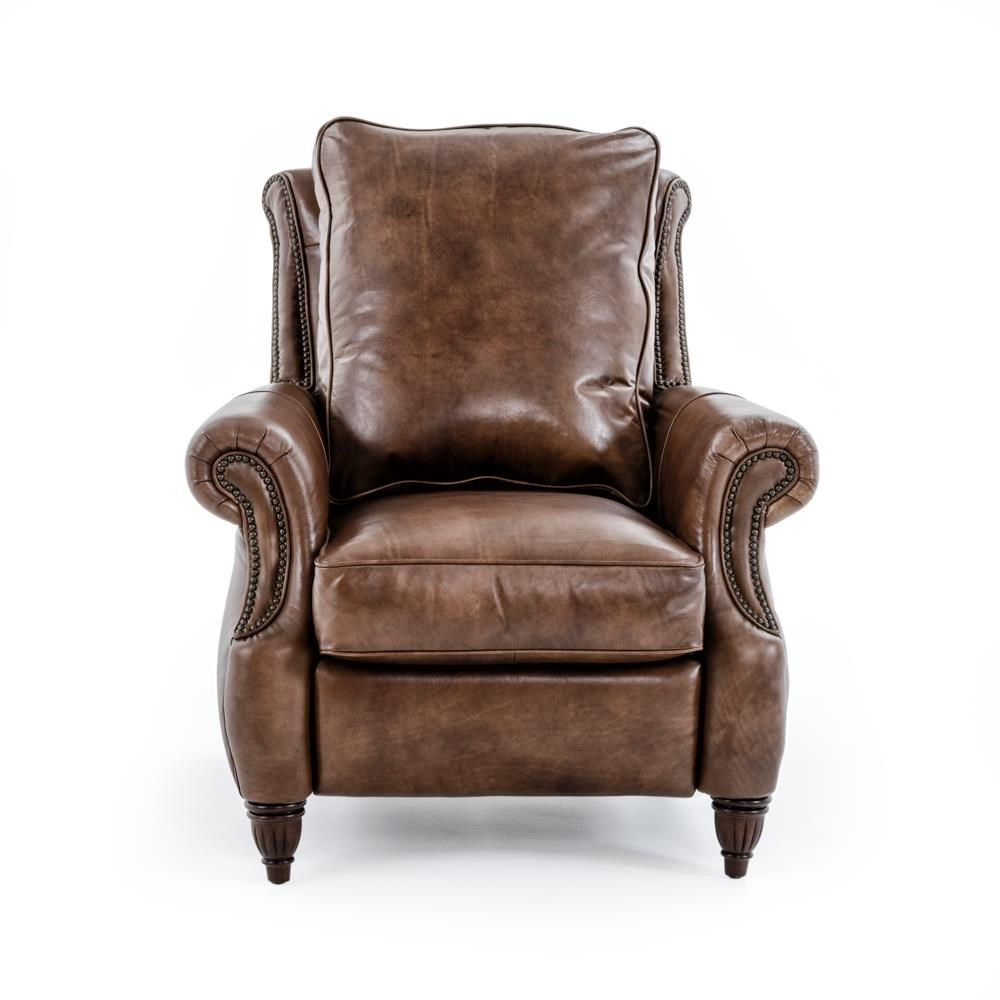 Drexel Heritage® Leather Pairings - Travis Power High Leg Recliner - Item Number: LP8041-RE BROWN