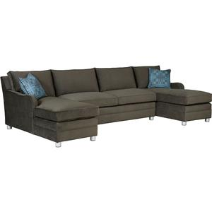 Drexel Modern Options Seating Customizable 3-Piece Sectional Sofa