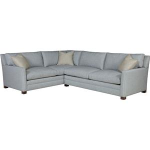 Drexel Modern Options Seating Customizable 2-Piece Sectional Sofa