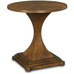Drexel Olio Pinnacle Round End Table