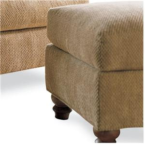Drexel Heritage® Options Upholstery Program <b>Customizable</b>McDermott Ottoman