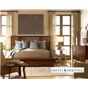 Drexel Heritage® Renderings Oriel Dresser w/ 9 Drawers - Shown in Room Setting with Bed and Nightstand