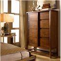 Drexel Heritage® Renderings Definition Door Chest w/ Shelves - Shown in Room Setting
