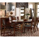 Drexel Heritage® Renderings Leade Oval Dining Table - Shown with Chairs