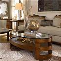 Drexel Heritage® Renderings Eaves Oval Cocktail Table - Shown in Room Setting