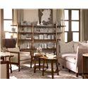 Drexel Heritage® Renderings Etch Bunching End Table w/ Lower Shelf - Shown in Room Setting