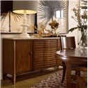 Drexel Heritage® Renderings  Tracery Credenza w/ 3 Drawers - Shown in Room Setting
