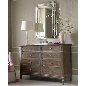 Drexel Valmoral Dresser and Mirror Set