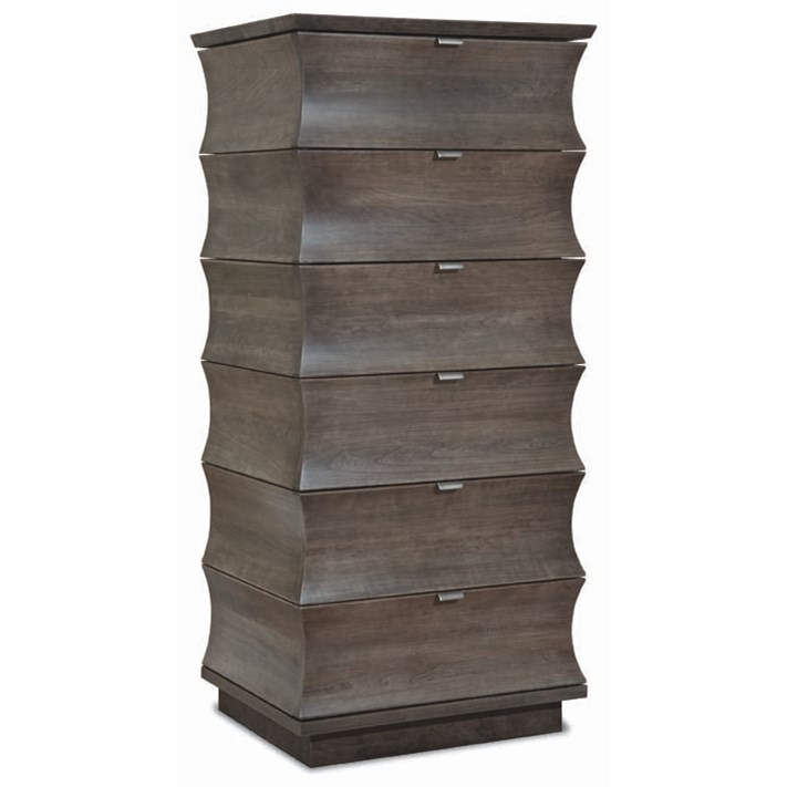Cascata Lingerie Chest by Durham at Jordan's Home Furnishings