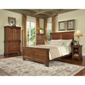 Durham Chateau Fontaine Panel Bed - 975-134