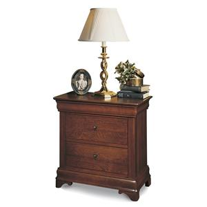 Durham Chateau Fontaine 2 Drawer Nightstand