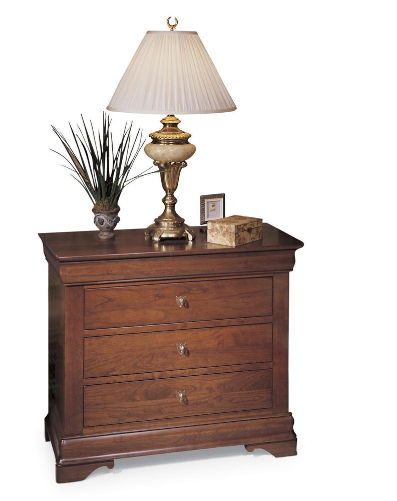 Chateau Fontaine Bedside Chest by Durham at Stoney Creek Furniture
