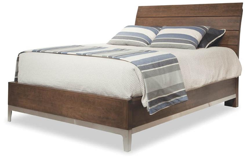 Defined Distinction King Wood Plank Bed by Durham at Stoney Creek Furniture