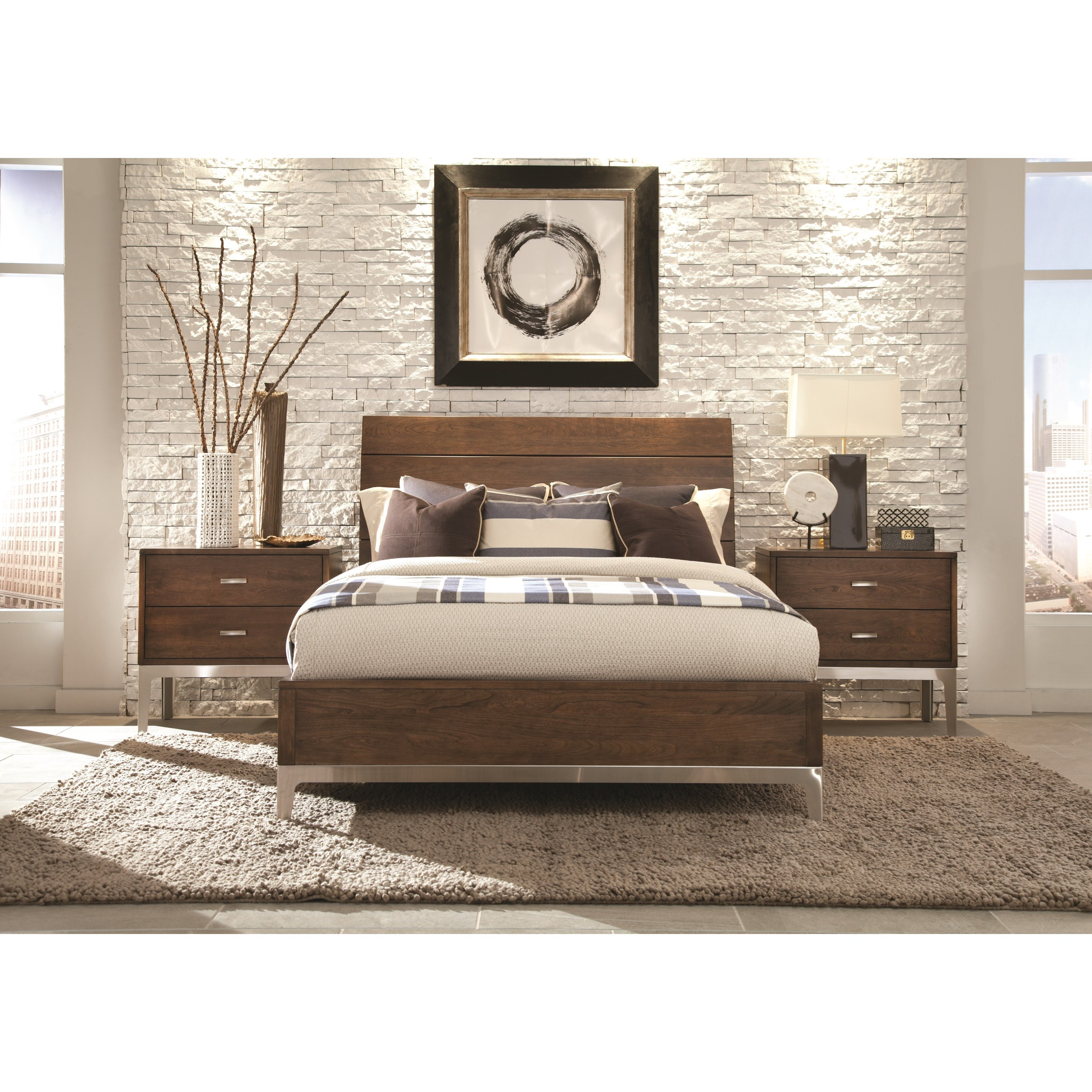 Defined Distinction King Bedroom Group by Durham at Stoney Creek Furniture