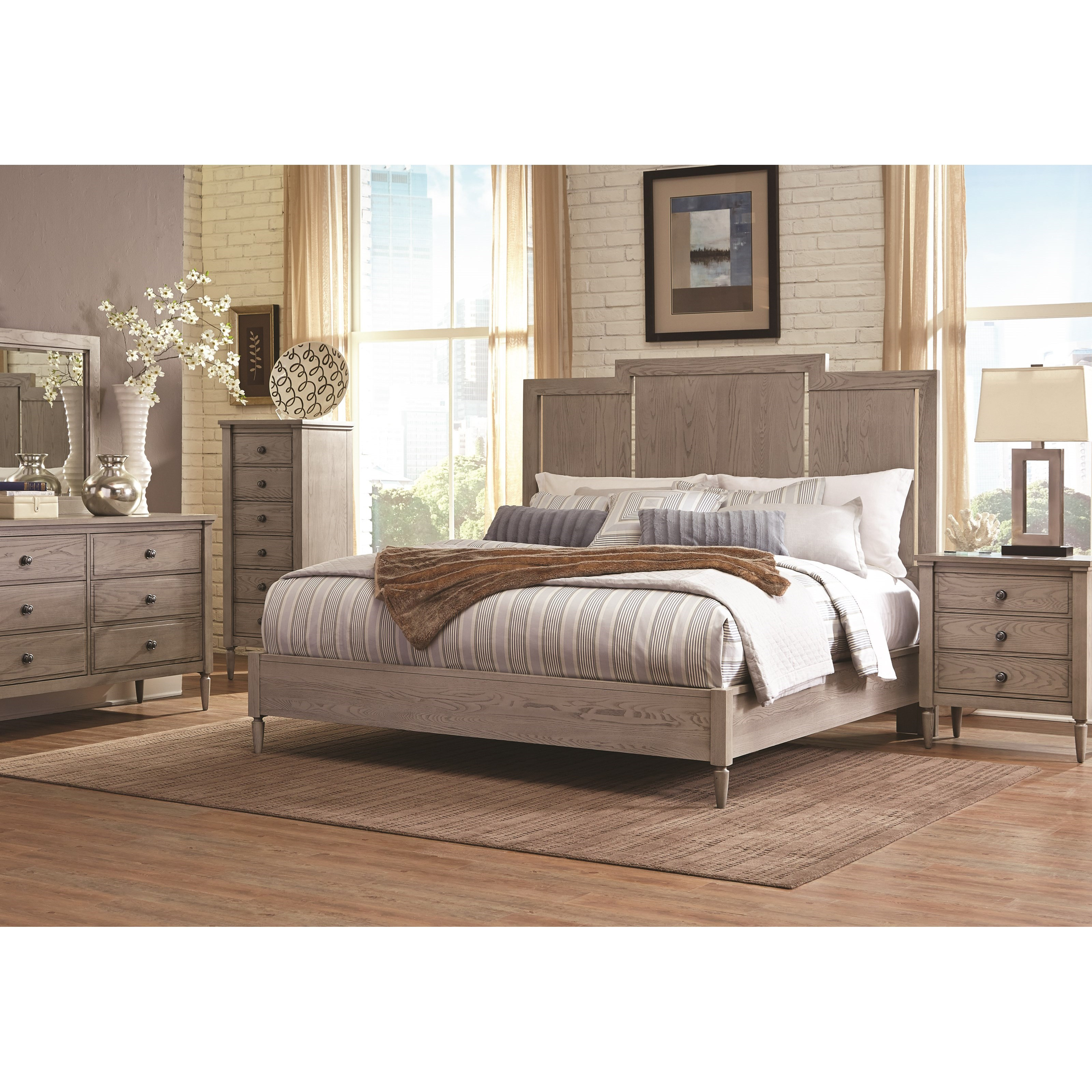 Durham Dunns Valley King Bedroom Group - Item Number: 142 K Bedroom Group 4