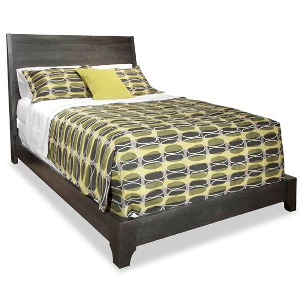 Durham Front Street King Panel Bed - Item Number: 151-144
