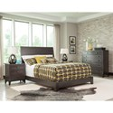 Durham Front Street Night Stand with 3 Drawers