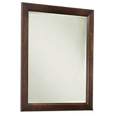 Glen Terrace Solid Maple Vertical Frame Mirror by Durham at Stoney Creek Furniture