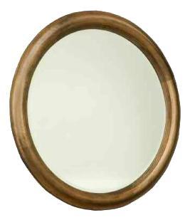 Hudson Falls  Round Mirror by Durham at Stoney Creek Furniture