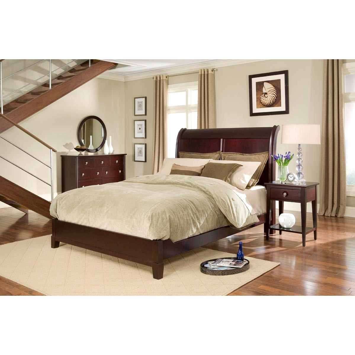 Manhattan  King Bedroom Group by Durham at Stoney Creek Furniture
