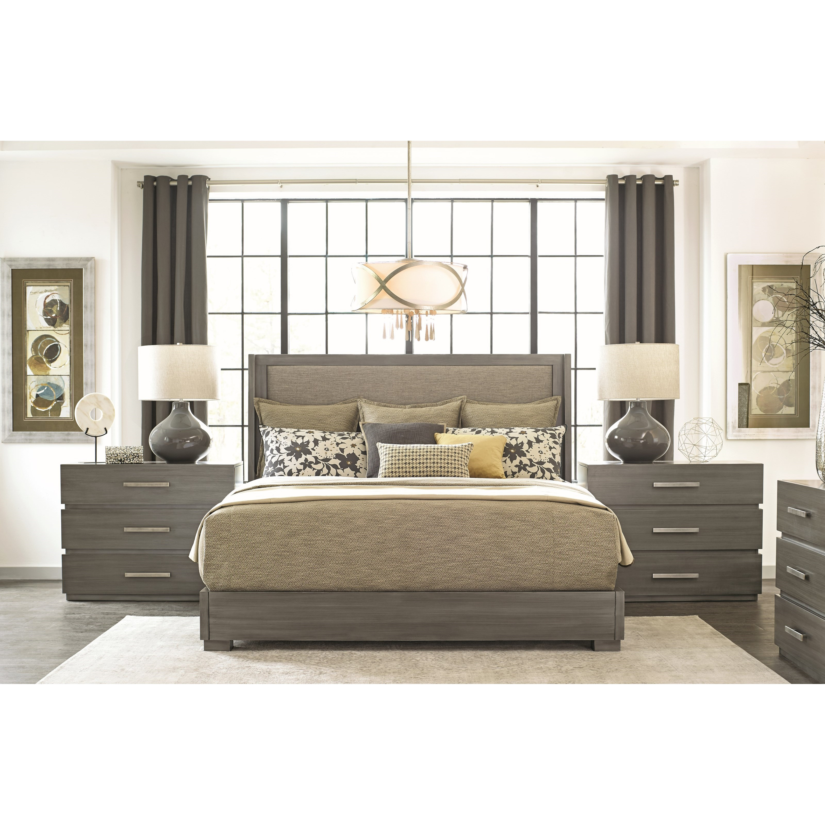 Durham Modern Simplicity King Bedroom Group Stoney Creek