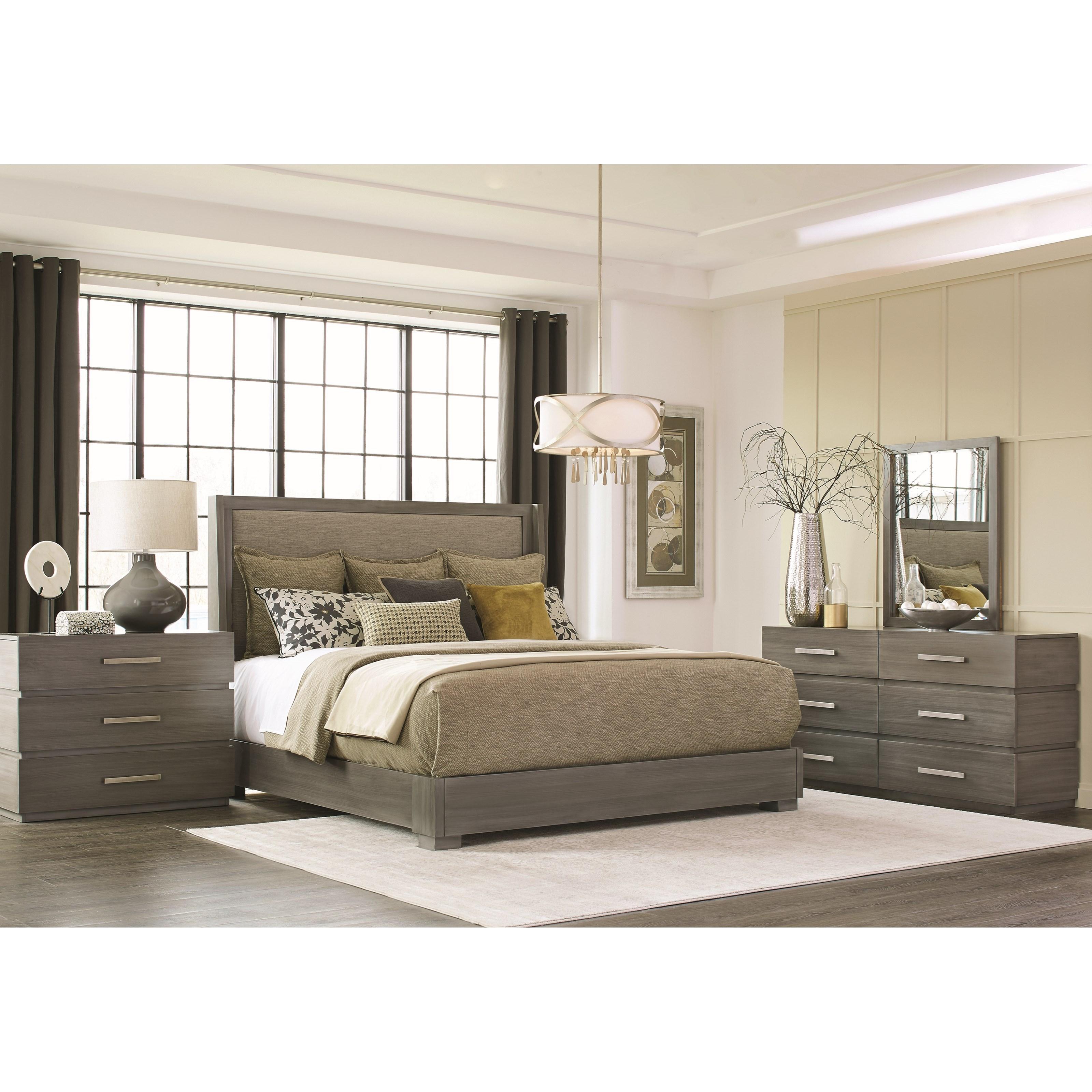 Durham Modern Simplicity Queen Bedroom Group - Item Number: 167 Q Bedroom Group 2