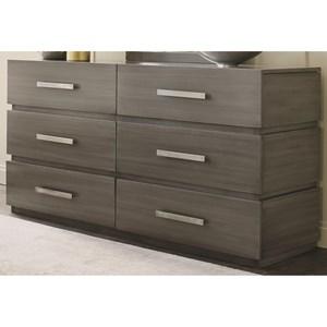 Durham Modern Simplicity Double Dresser