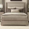 Durham Modern Simplicity Queen Upholstered Bed - Item Number: 168-125