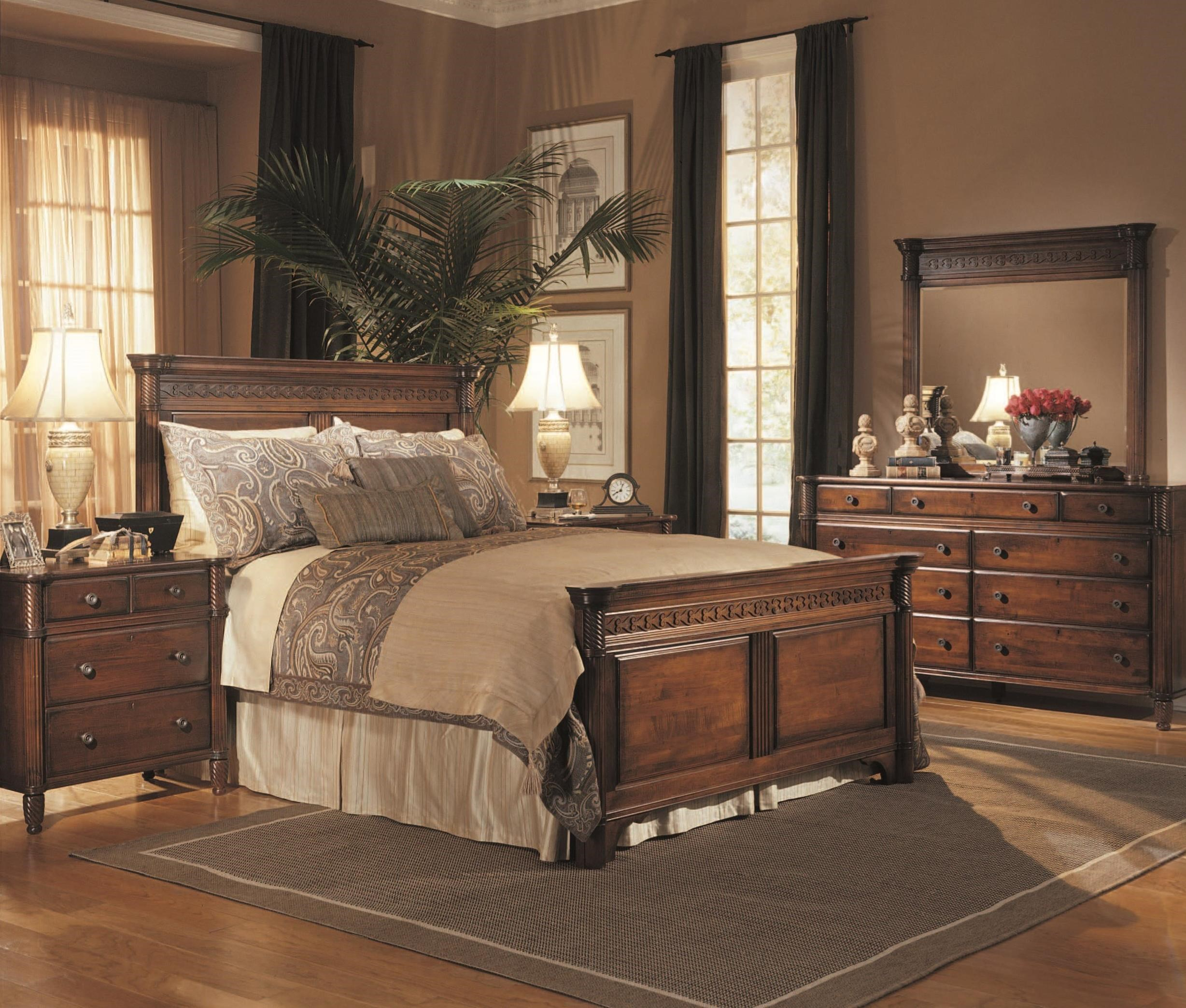 George Washington Architect Queen Bedroom Group by Durham at Stoney Creek Furniture