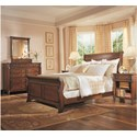 Durham George Washington Architect Queen Bedroom Group - Item Number: 501 Q Bedroom Group 3