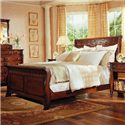 Durham Mount Vernon Master Sleigh Bed - Item Number: 501-128