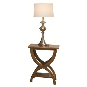 Durham Occasional Tables Durham Transitional Chairside Table