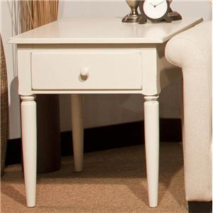 Durham Occasional Tables Durham Cottage Drawer Lamp Table
