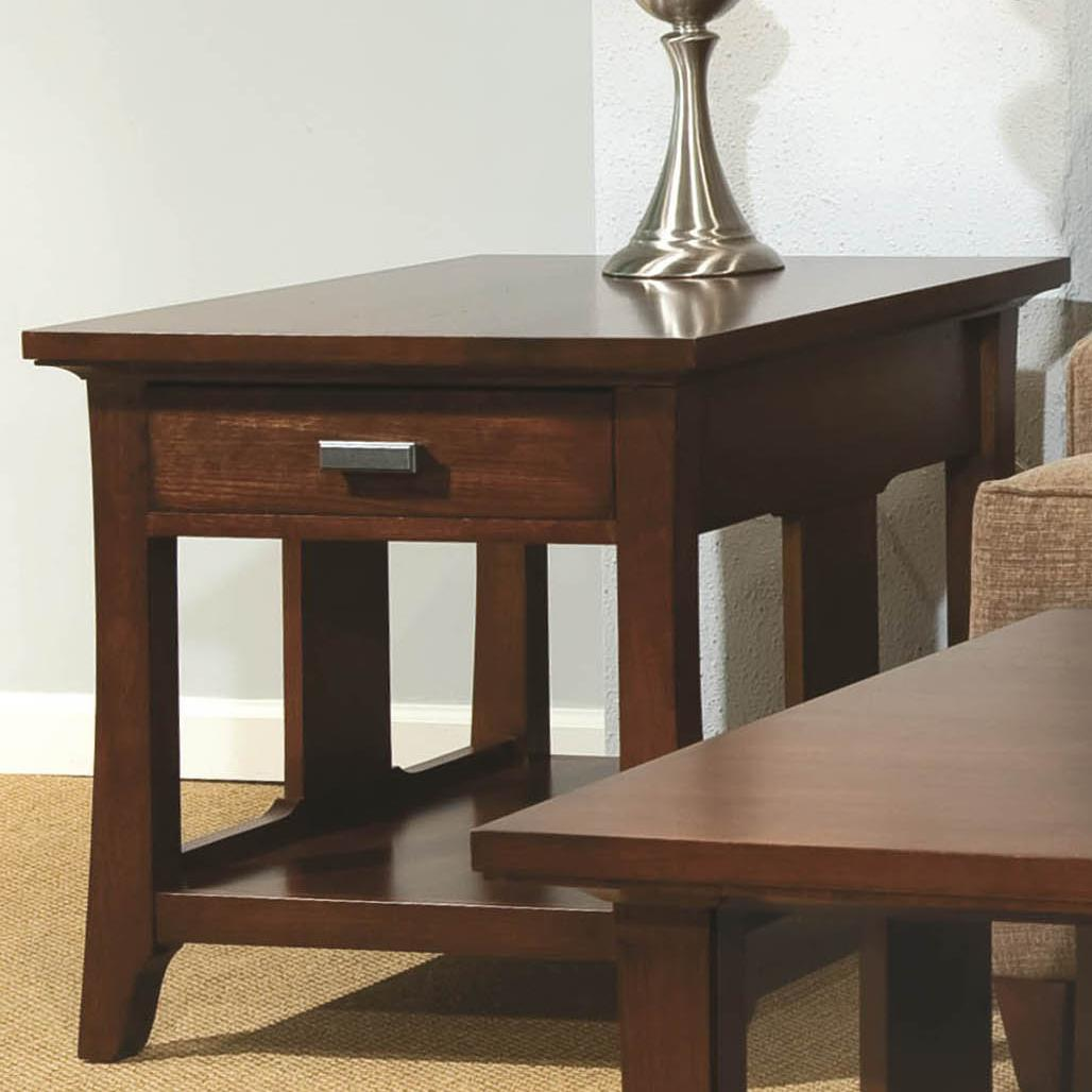 Westwood End Drawer Table