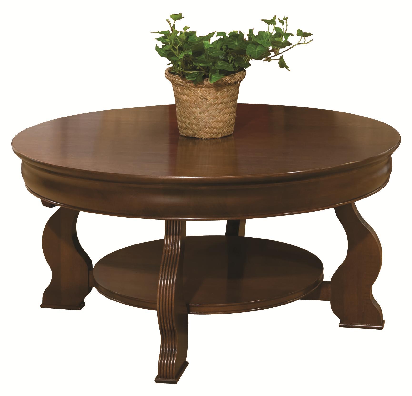 Louis Phillipe Round Cocktail Table