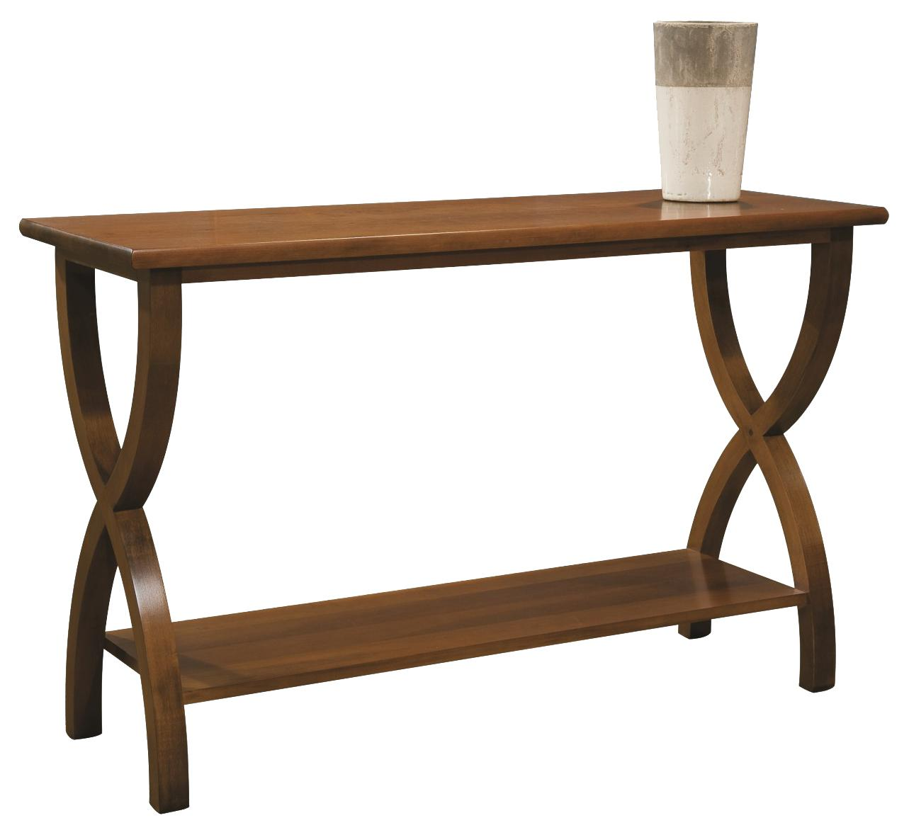 Occasional Tables Durham Transitional Sofa Back Table by Durham at Stoney Creek Furniture