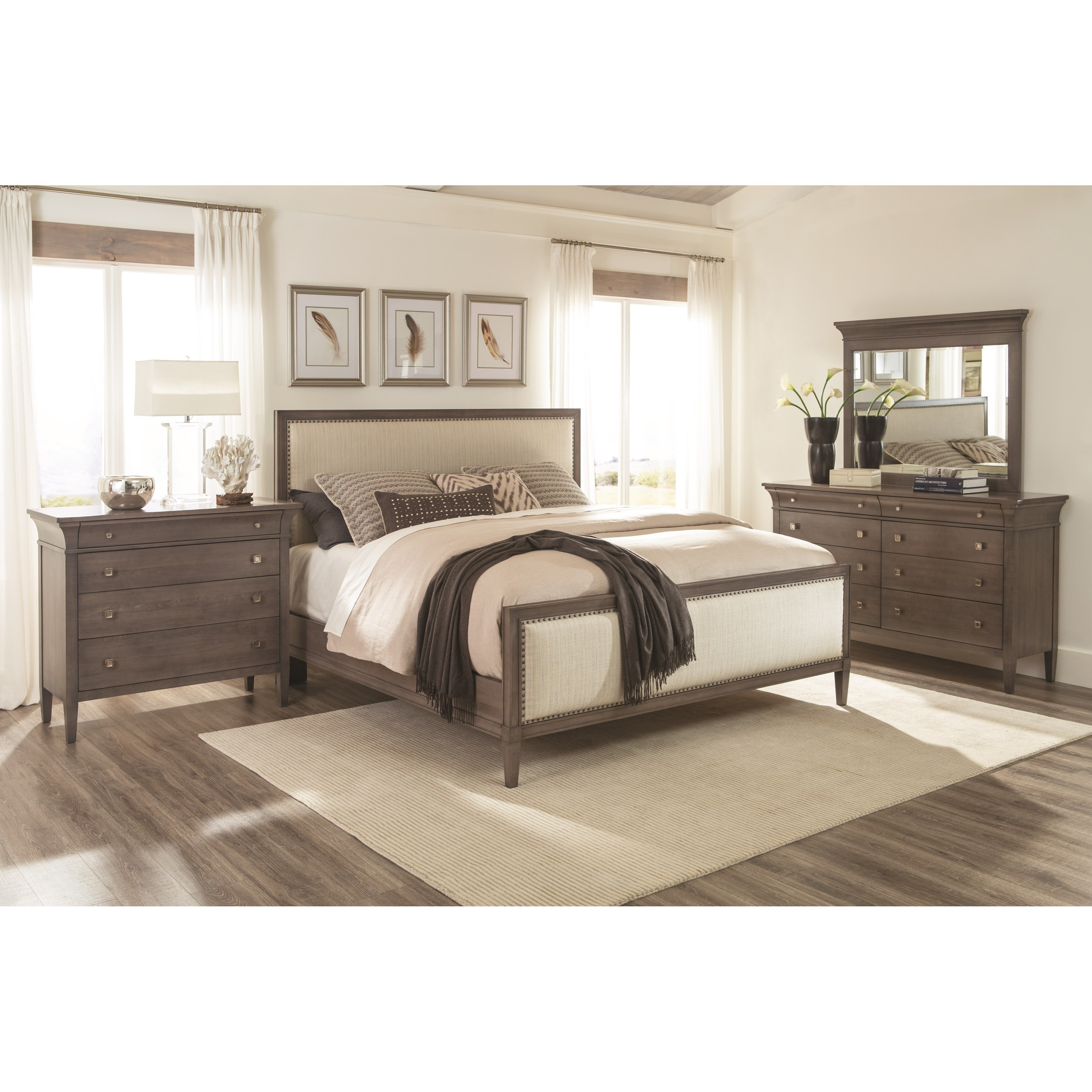 Prominence King Bedroom Group by Durham at Stoney Creek Furniture