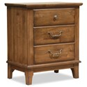 Durham Rustic Civility Nightstand - Item Number: 301-203