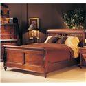 Durham Saville Row Queen Sleigh Bed - 980-127